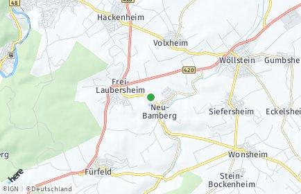 Stadtplan Neu-Bamberg
