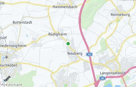 Stadtplan Neuberg