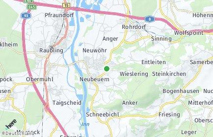 Stadtplan Neubeuern