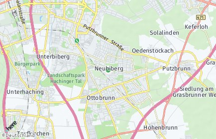Stadtplan Neubiberg