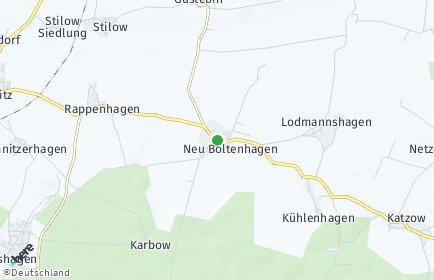 Stadtplan Neu Boltenhagen