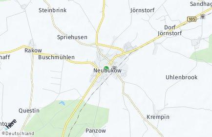 Stadtplan Neubukow