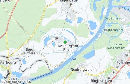 Stadtplan Neuburg am Rhein