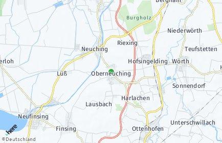 Stadtplan Neuching