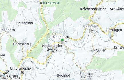 Stadtplan Neudenau