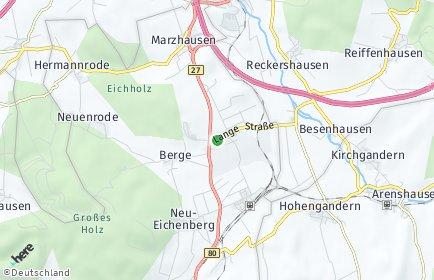 Stadtplan Neu-Eichenberg