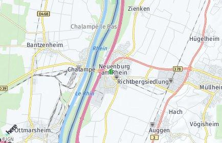Stadtplan Neuenburg am Rhein