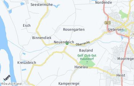 Stadtplan Neuendeich