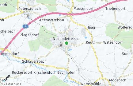 Stadtplan Neuendettelsau