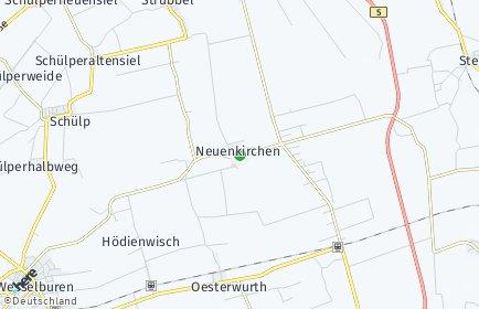 Stadtplan Neuenkirchen (Dithmarschen)