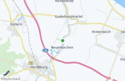 Stadtplan Neuenkirchen (Altes Land)