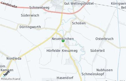 Stadtplan Neuenkirchen (Land Hadeln)