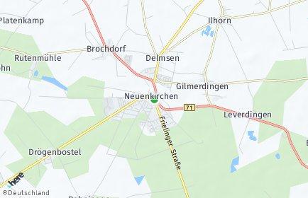 Stadtplan Neuenkirchen (Lüneburger Heide)
