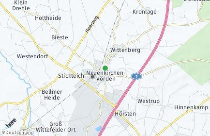 Stadtplan Neuenkirchen-Vörden