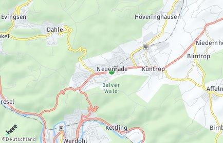 Stadtplan Neuenrade
