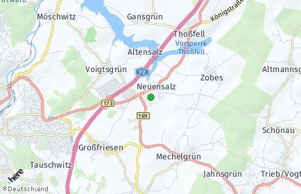 Stadtplan Neuensalz