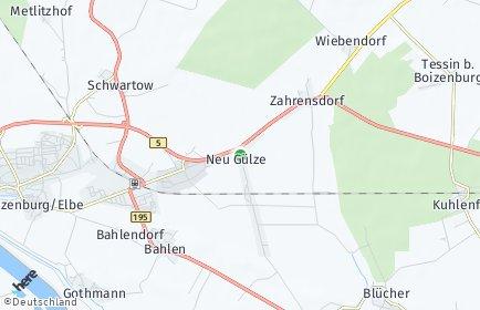 Stadtplan Neu Gülze