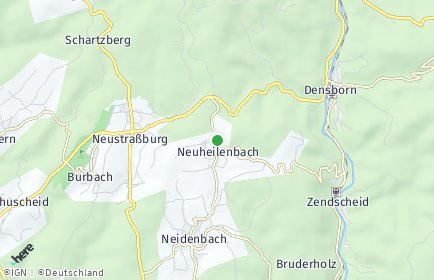 Stadtplan Neuheilenbach
