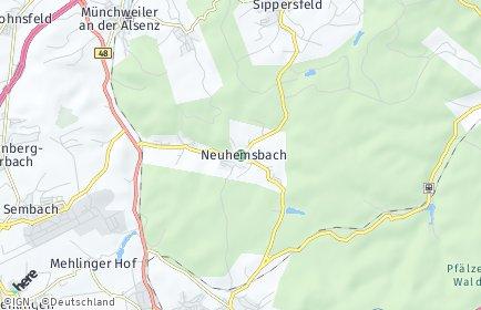 Stadtplan Neuhemsbach