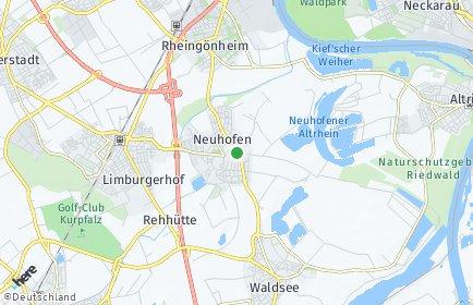 Stadtplan Neuhofen