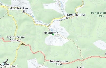 Stadtplan Neuhütten (Unterfranken)