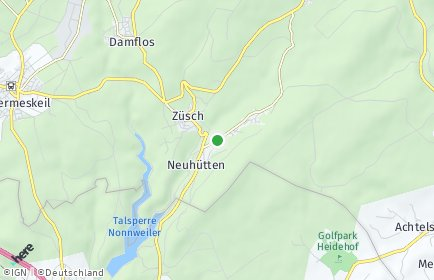 Stadtplan Neuhütten (Hochwald)