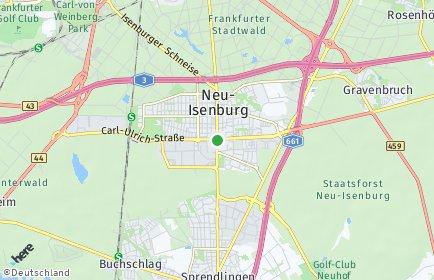 Stadtplan Neu-Isenburg