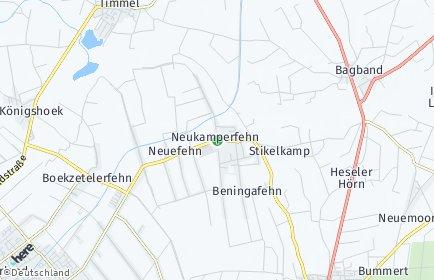 Stadtplan Neukamperfehn