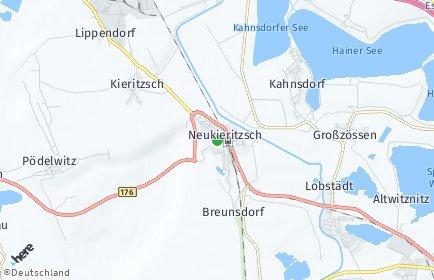 Stadtplan Neukieritzsch