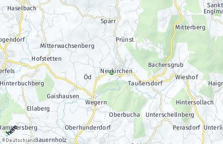 Stadtplan Neukirchen (Niederbayern) OT Mitterkogl