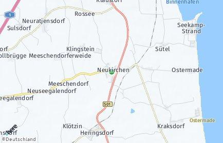 Stadtplan Neukirchen (Ostholstein)