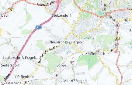 Stadtplan Neukirchen/Erzgebirge
