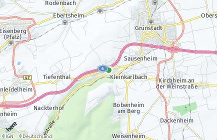 Stadtplan Neuleiningen