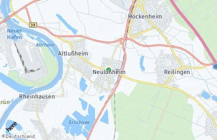 Stadtplan Neulußheim