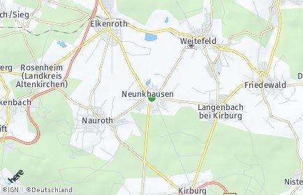 Stadtplan Neunkhausen
