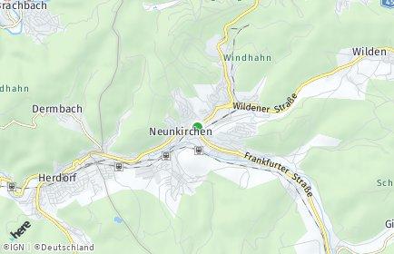 Stadtplan Neunkirchen (Siegerland)