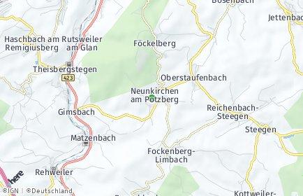 PLZ Neunkirchen am Potzberg Postleitzahl Rheinland-Pfalz ...