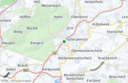 Stadtplan Neunkirchen-Seelscheid