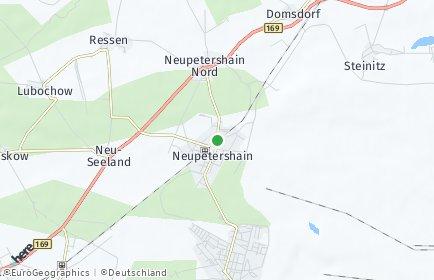 Stadtplan Neupetershain
