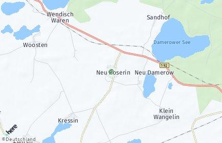 Stadtplan Neu Poserin