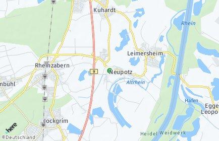 Stadtplan Neupotz