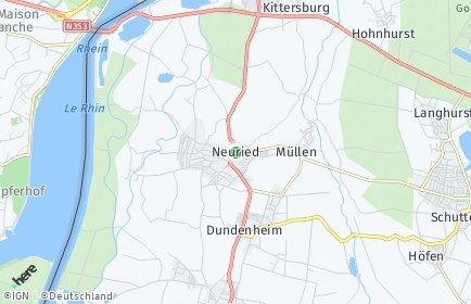 Stadtplan Neuried (Baden)