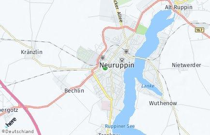 Stadtplan Neuruppin