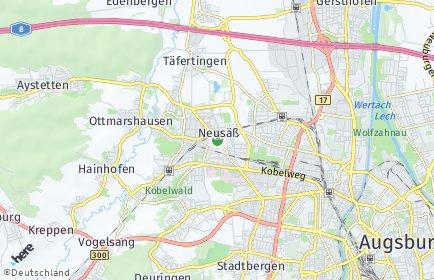 Stadtplan Neusäß