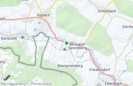 Stadtplan Neusalza-Spremberg
