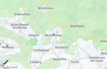 Stadtplan Neuschönau