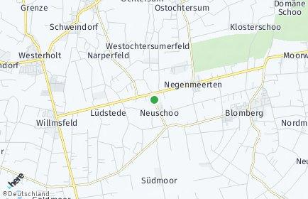 Stadtplan Neuschoo
