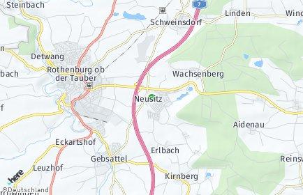 Stadtplan Neusitz
