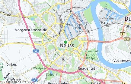 Stadtplan Neuss
