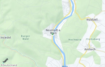 Stadtplan Neustadt am Main